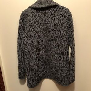 Anthropologie Jackets & Coats - Anthropologie Three Dots Grey Textured Jacket S